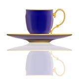 茶杯有阴影的 免版税库存图片