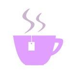 茶杯象 库存照片