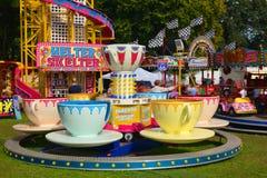 茶杯集市场所乘驾 图库摄影
