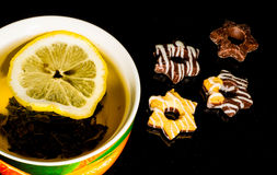 茶杯,热,绿色,白色,茶壶,水,液体, 免版税库存照片