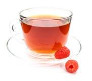 茶用被隔绝的莓 库存照片