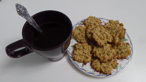茶用饼干 免版税库存照片