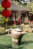 绿茶种植园在中国 图库摄影