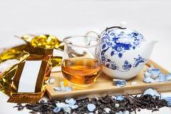 茶繁体中文茶 库存图片