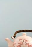 茶罐背景 免版税库存照片