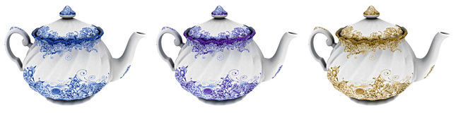 茶罐 图库摄影