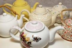 茶罐 免版税图库摄影