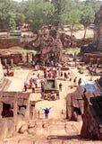 茶胶寺寺庙柬埔寨 库存图片