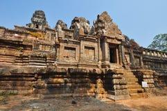 茶胶寺寺庙,吴哥窟,柬埔寨 库存图片