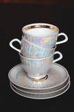 茶茶杯 库存照片