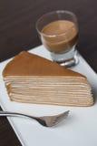 茶蛋糕 免版税库存图片