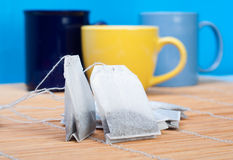 茶袋 免版税图库摄影