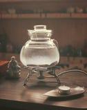 茶道的茶壶 库存图片
