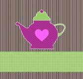 茶邀请 免版税库存图片