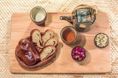 茶饮用的仪式 免版税库存图片