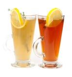 茶玻璃 免版税库存图片