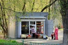茹科夫斯基,俄罗斯- 2017年5月02日:仅社论用途 o 免版税库存图片