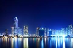荃湾在香港 免版税库存照片
