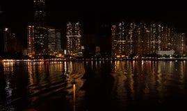 荃湾地平线 库存照片