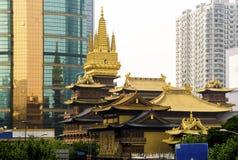荆山寺庙 图库摄影