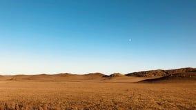 草原在秋天 免版税库存照片