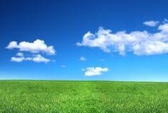 草原平安的视图 库存照片