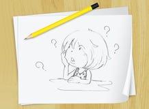 草图 免版税图库摄影