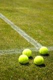 草地网球运动 免版税库存照片