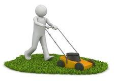 草坪人刈草机