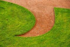 草坪模式 图库摄影
