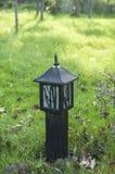 草坪灯 库存图片