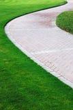 草坪路径 免版税图库摄影