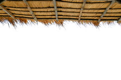 草屋顶 免版税库存图片