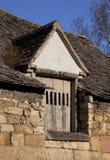 草料棚沥青孔,英国 免版税图库摄影