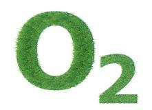 绿草氧气 免版税库存图片
