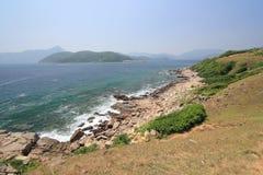 草海岛在香港 库存图片