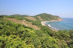 草海岛在香港 免版税图库摄影