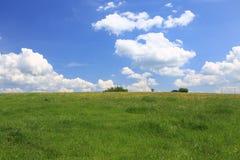 草甸/风景的风景看法 库存图片