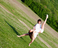 草的二个恋人 图库摄影