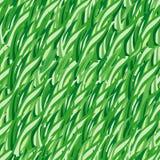 草绿色无缝的向量 免版税库存图片