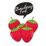 草莓传染媒介 皇族释放例证