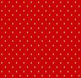 草莓传染媒介纹理样式 皇族释放例证