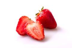 草莓喜欢产品 免版税库存照片