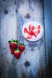 草莓圆滑的人 库存图片