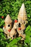 草莓城堡 库存图片