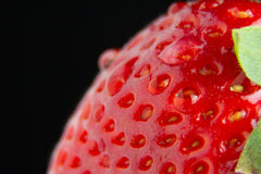 草莓宏指令 免版税库存照片