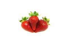 草莓小山 免版税库存图片