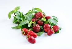 草莓时间 库存图片