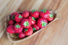 草莓板材  库存照片
