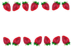 草莓框架 库存照片